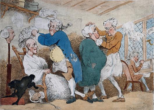 Кто в парике, кто в ирокезе: опубликована книга о культурной истории волос