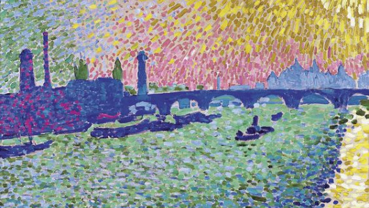 André Derain. Waterloo Bridge. 1906. Oil on canvas. Madrid, Museo Thyssen-Bornemisza