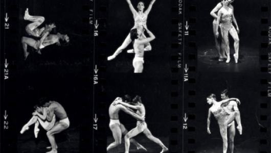 Контактные отпечатки с фотографиями «Астарты» Джоффри с танцовщиками Тринетт Синглтон и Дермот Бурк. Фото Герберта Мигдолла, 1967