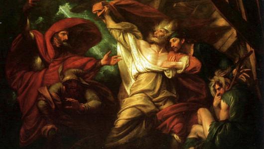 Бенджамин Уэст «Король Лир» (фрагмент)