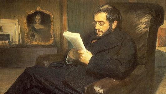Лев Бакст. Портрет А. Бенуа, 1898