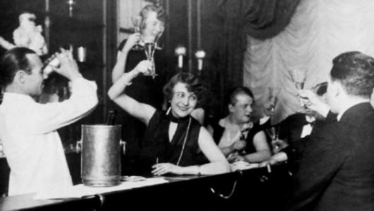 Неизвестный фотограф. В баре. 1926 г.