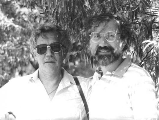Евгений Сабуров и Михаил Айзенберг. Фото Андрея Канищева