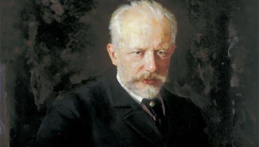 Н. Кузнецов. Портрет Петра Ильича Чайковского, 1893 (фрагмент)