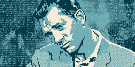 Jack Kerouac by Joshua Budich / JoshuaBudich.com