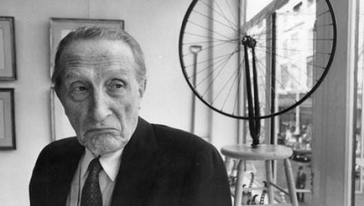 Марсель Дюшан и его «Велосипедное колесо». Фото: theguardian.com