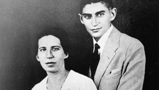 Франц Кафка с Фелицией Бауэр, 1917 год. Фото: www.globallookpress.com
