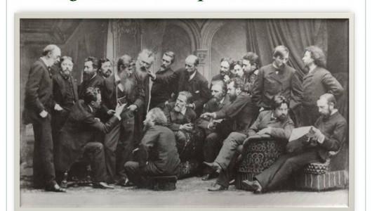 Художники-передвижники. Фотография, 1886.