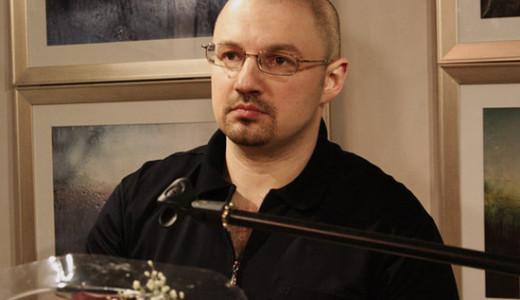 Сергей Морейно на презентации своей книги