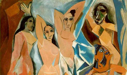«Авиньонские девицы» (фрагмент). 1907.–1907 г. Нью-Йоркский музей современного искусства
