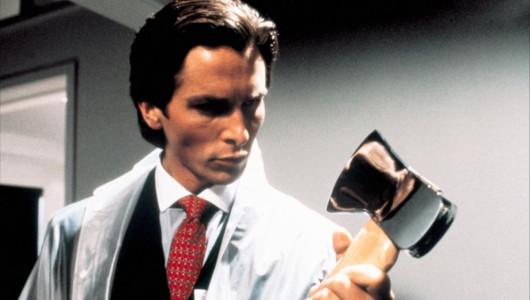 Кристиан Бэйл в роли Патрика Бэйтмана («Американский психопат», 2000. Реж. Мэри Хэррон)