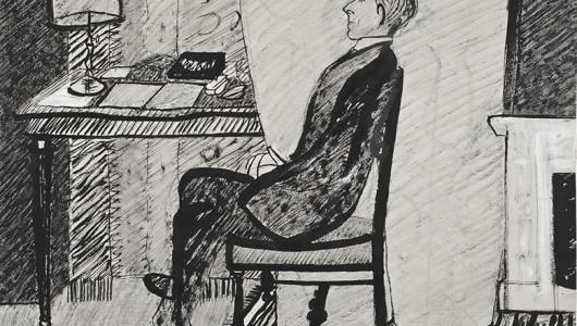 Петр Митурич. Осип Мандельштам. 1915. ГРМ.