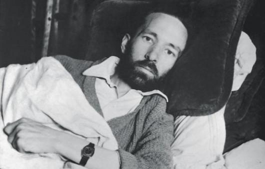 Рене Домаль за три дня до смерти, 19 мая 1944. Фото: Luc Dietrich