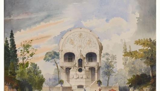 Claris, XIXe s. Fabrique en vanité, aquarelle sur papier, début XIXe siècle. Collection particulière, Paris © droits réservés