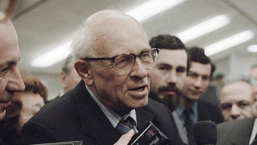 Андрей Дмитриевич Сахаров. Фото: academic.ru